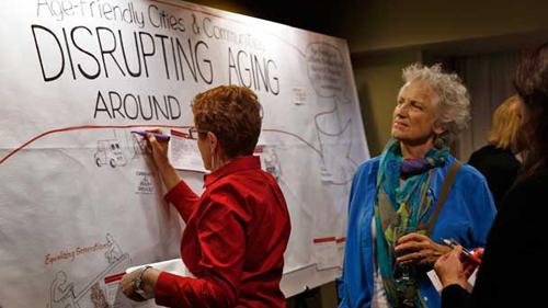 Age-Friendly Communities Reception - San Francisco